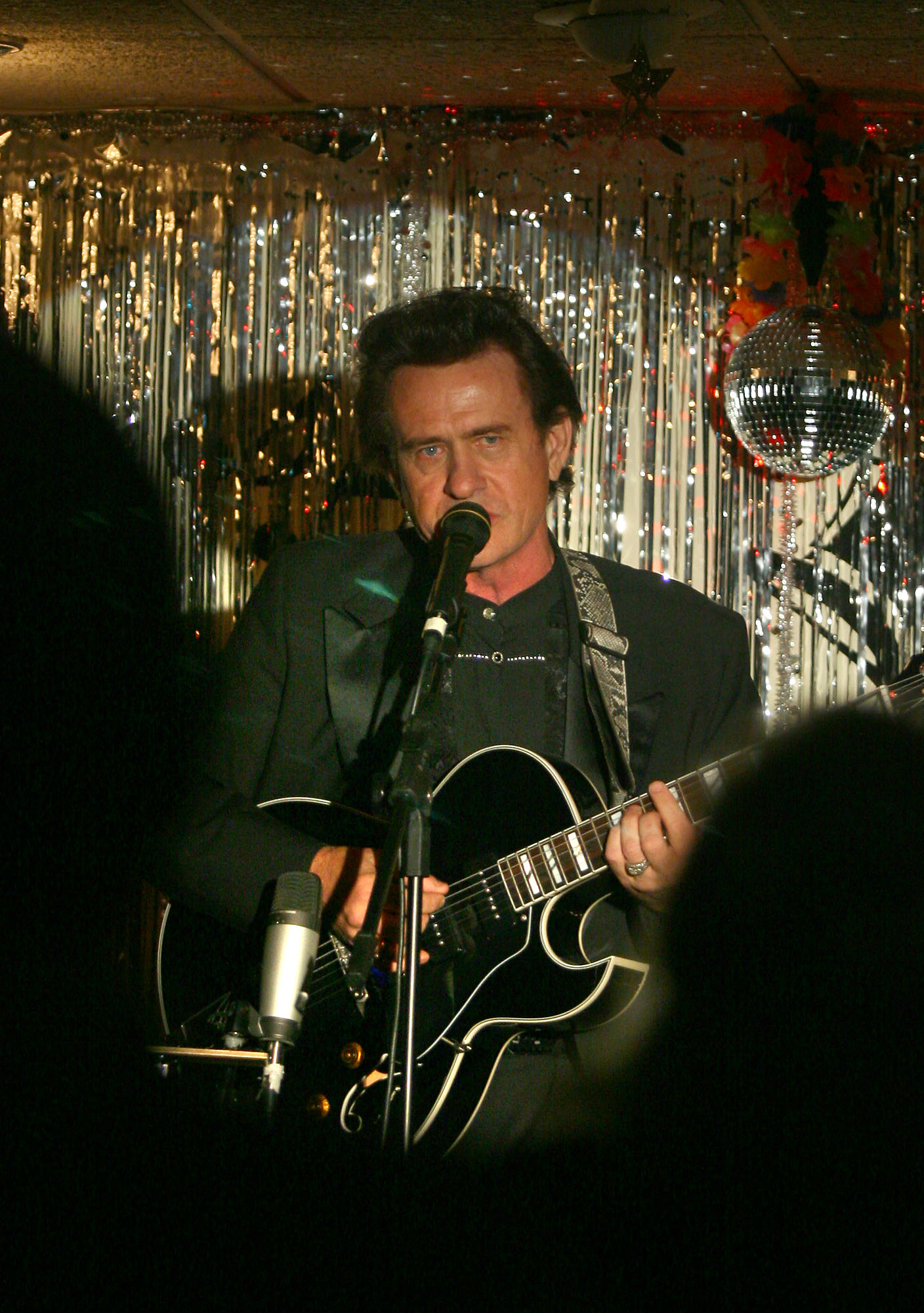 Johnny Cash Impersonator And Tribute To Johnny Cash In